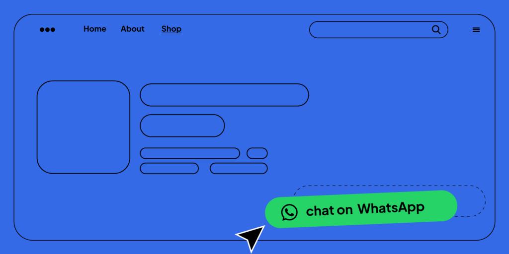 Aggiungere pulsanti di chat whatsapp